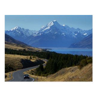 Carte Postale Mt. Cuisinier, Nouvelle Zélande