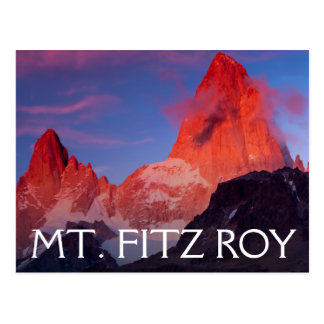 Carte Postale Mt Fitz Roy