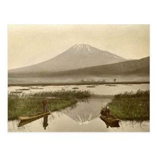 Carte Postale Mt Fuji de photographie de cru de Kashiwabara