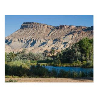 Carte Postale Mt. Garfield à la palissade, le Colorado