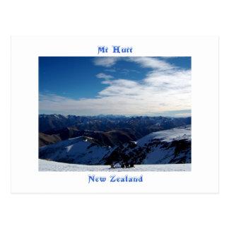 Carte Postale Mt Hutt, Nouvelle Zélande
