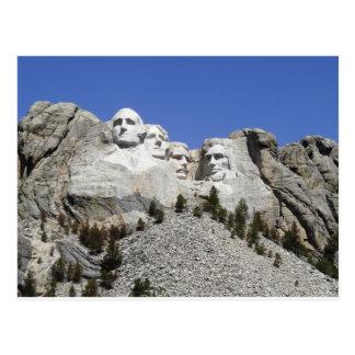 Carte Postale Mt Rushmore