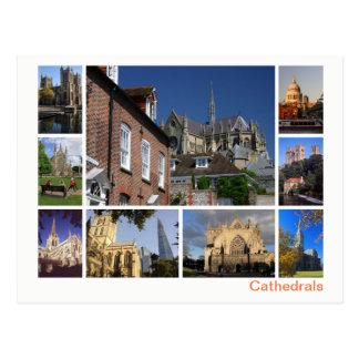 Carte Postale Multi-image de cathédrales