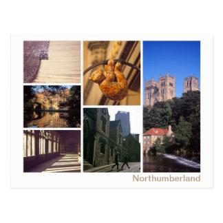 Carte Postale Multi-image du Northumberland
