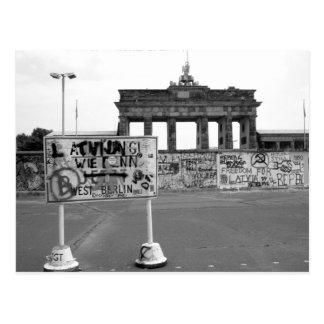Carte Postale Mur de Berlin