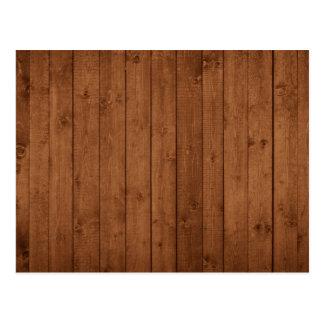 Carte Postale Mur de grange fait de vieilles planches en bois -