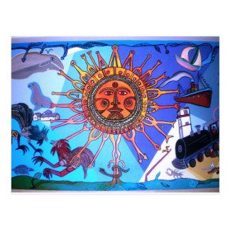 Carte Postale Mur de l'Uruguay Conrad