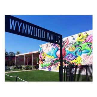 Carte Postale Murs de Wynwood, Miami