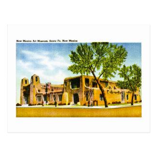 Carte Postale Musée d'Art du Nouveau Mexique, Santa Fe, Nouveau