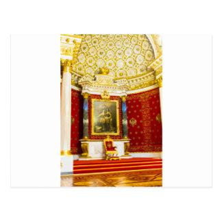 Carte Postale Musée d'ermitage d'état St Petersburg Russie