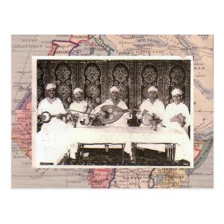 Carte Postale Musiciens de Morrocan