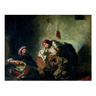 Carte Postale Musiciens juifs en Mogador, 1847