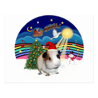 Carte Postale Musique 3 de Noël - cobaye 1 (casquette)