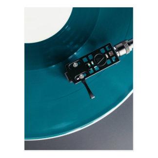 Carte Postale Musique d'album de disque vinyle de plaque