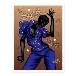 Carte Postale Musique d'âme