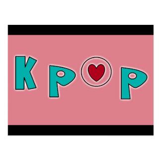 Carte Postale Musique de KPOP