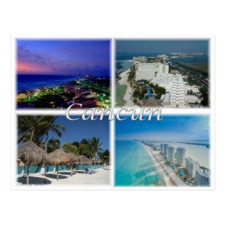 Carte Postale MX Mexique - Cancun -