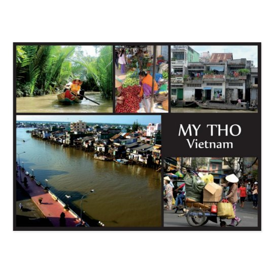 Carte Postale My Tho - Vietnam