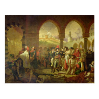 Carte Postale N. Bonaparte visitant la peste frappée de
