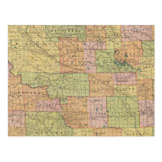 Carte Postale N Dakota