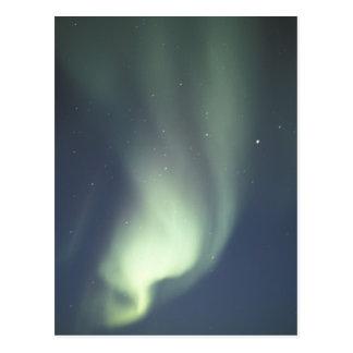 Carte Postale Na, Canada, Manitoba, lumières du nord de