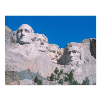 Carte Postale Na, Etats-Unis, écart-type, le mont Rushmore.