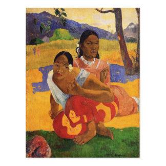 """Carte Postale """"Nafea Faa Ipoipo"""" - Paul Gauguin"""