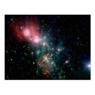 Carte Postale Naissance chaotique d'étoile de NASAs