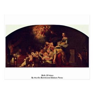 Carte Postale Naissance de Mary par Murillo Bartolomé Esteban