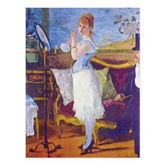 Carte Postale Nana par Edouard Manet