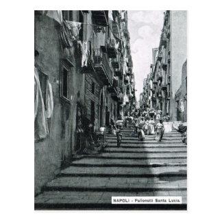 Carte Postale Naples, 1908, Palonetti S. Lucia