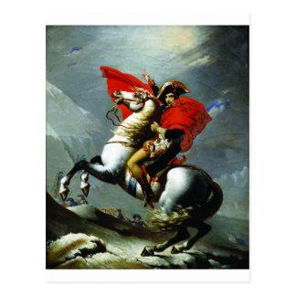 Carte Postale Napoléon croisant les Alpes
