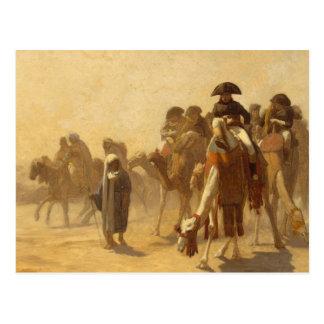 Carte Postale Napoléon en Egypte