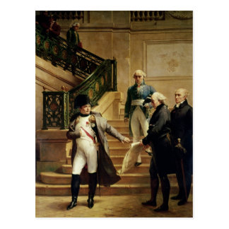 Carte Postale Napoléon I dans le Palais Royal