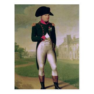 Carte Postale Napoléon I devant le château de Malmaison