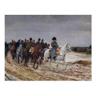Carte Postale Napoléon sur la campagne en 1814, 1864