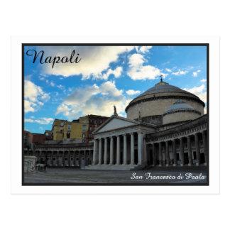 Carte Postale Napoli