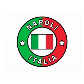 Carte Postale Napoli Italie