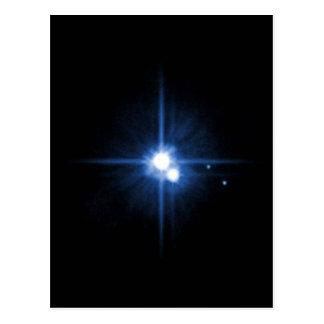 Carte Postale NASAs Pluton et Charon