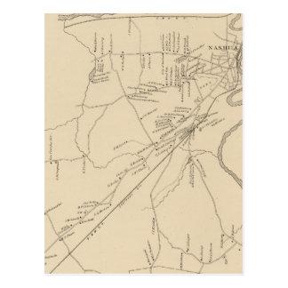 Carte Postale Nashua, Hillsborough Co
