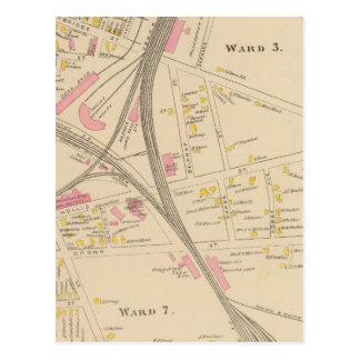 Carte Postale Nashua, salle 3, 7