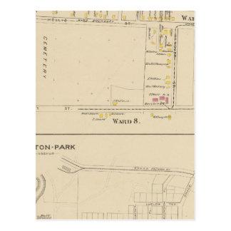Carte Postale Nashua, salle 56, 8, parc d'Atherton