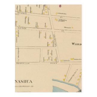 Carte Postale Nashua, salle 7, Edgeville
