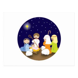 Carte Postale Nativité du seigneur