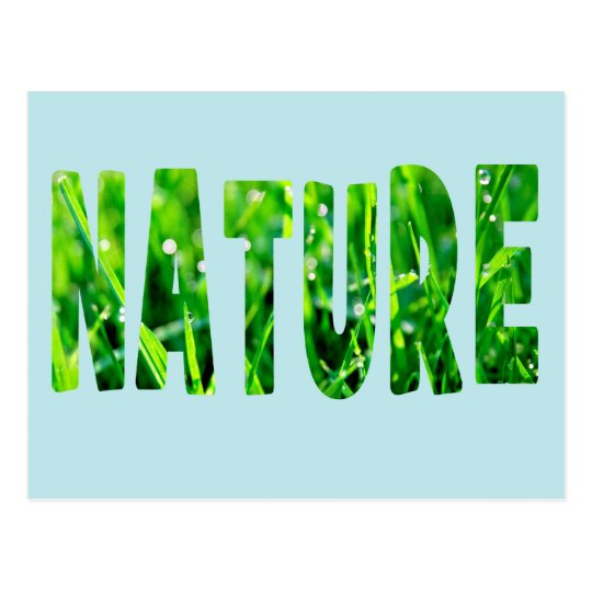 Carte Postale Nature