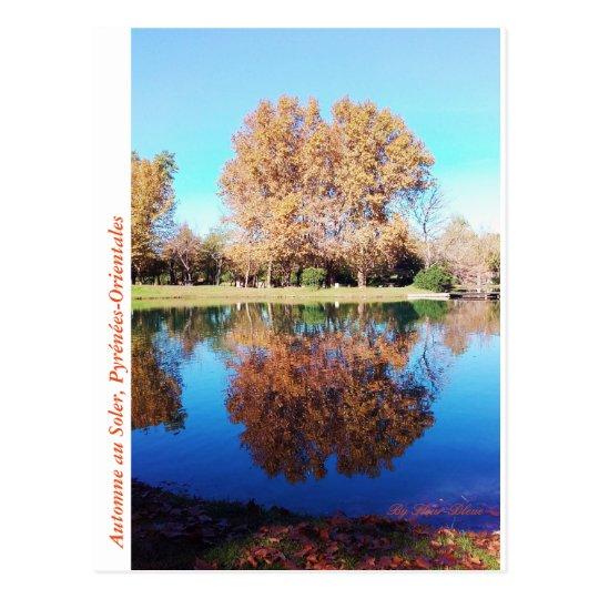 Carte postale nature d'automne