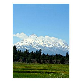 Carte Postale Nature de paysage de montagne de Shasta la