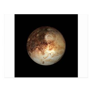 Carte Postale ~ naturel de PLUTON de PLANÈTE (système solaire)