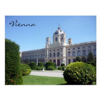 Carte Postale naturhistorisches Vienne