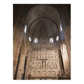 Carte Postale Nave du monastère de Santa Maria De Poblet